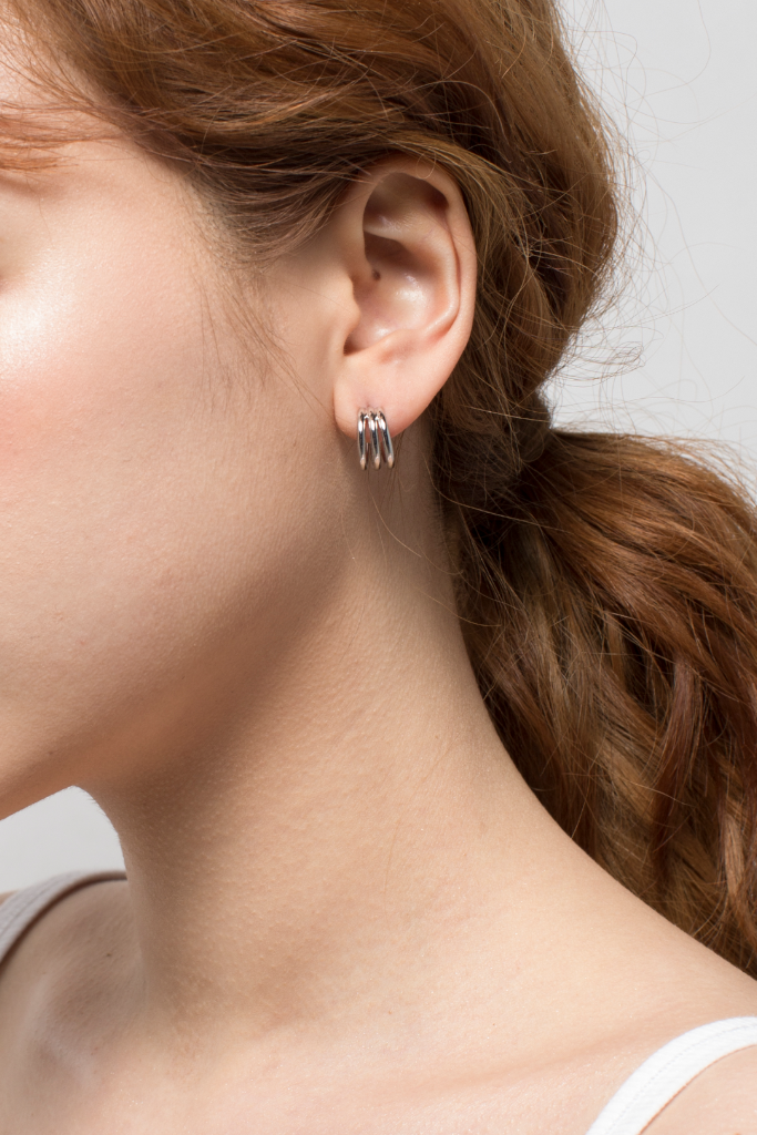 OLIVIA NZ Store online | Romi Earrings / Silver