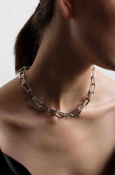 OLIVIA NZ Store online | Maya Chain Necklace / Silver