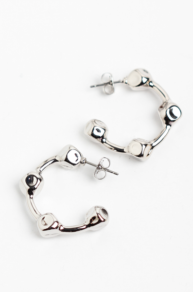 OLIVIA NZ Store online | Maeve Earrings / Silver