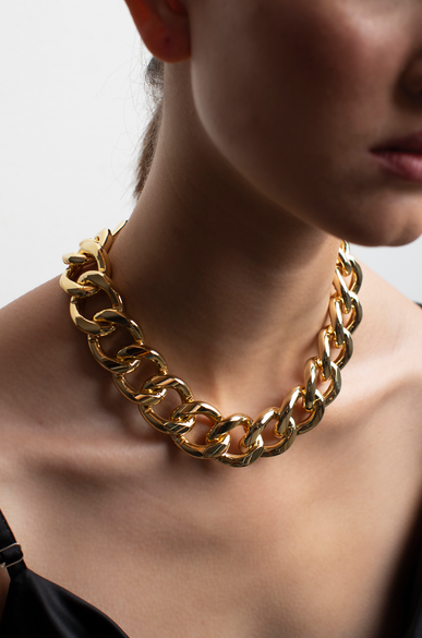 OLIVIA NZ Store online | Chunky Chain Necklace / Gold