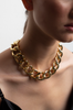 OLIVIA NZ Store online | Chunky Chain Necklace / Gold |