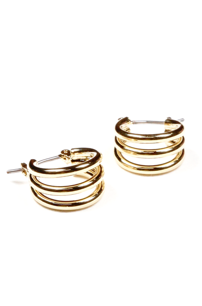 OLIVIA NZ Store online | Romi Earrings / Gold