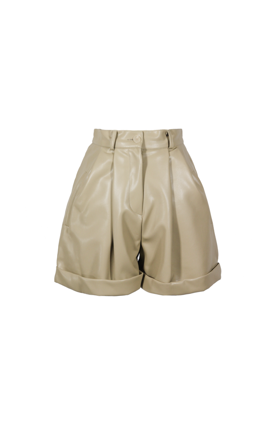 OLIVIA NZ Store online | Bellamy Pintuck Shorts / Beige