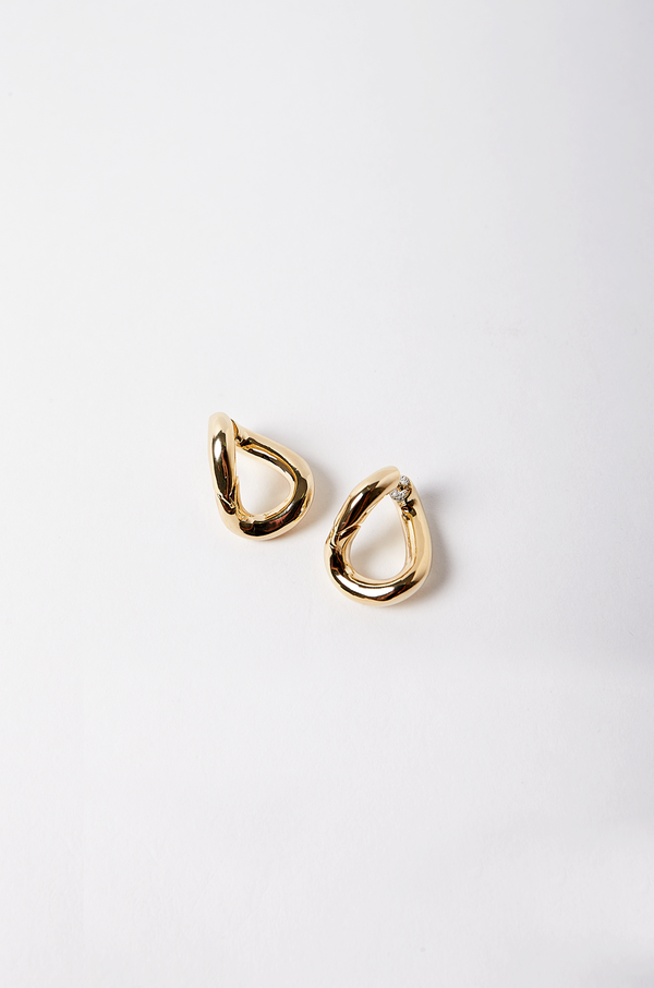 Taner Hoop Earrings / Gold
