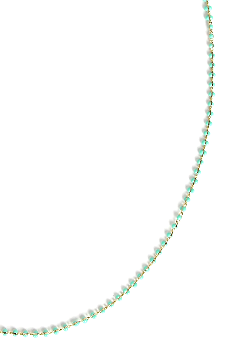 Gia Mask Chain / Green