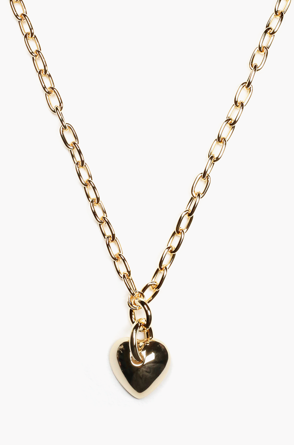 Amora Heart Necklace / Gold