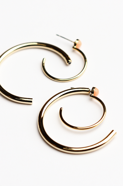 OLIVIA NZ Store online | Whirlwind Earrings / Pink