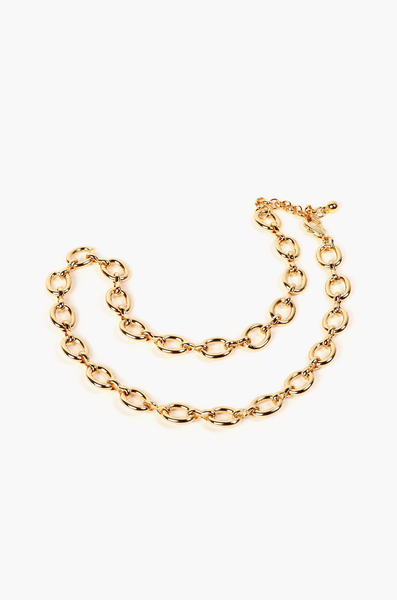 OLIVIA NZ Store online | Aurelia Chain Necklace / Gold