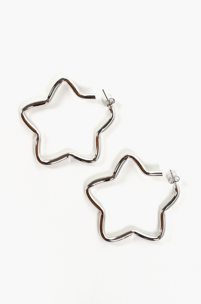 OLIVIA NZ Store online | Blakely Star Earrings / Silver