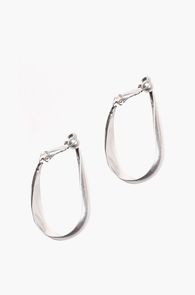 OLIVIA NZ Store online | Aylin Clip Earrings / Silver