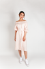 OLIVIA NZ Store online | Charlotte Linen Button Down Dress / Pink |