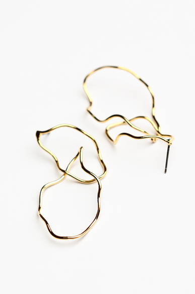 OLIVIA NZ Store online | Paulina Earrings / Gold