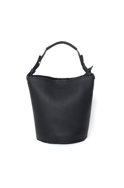 OLIVIA NZ Store online | Kira Leather Bucket Bag / Black |