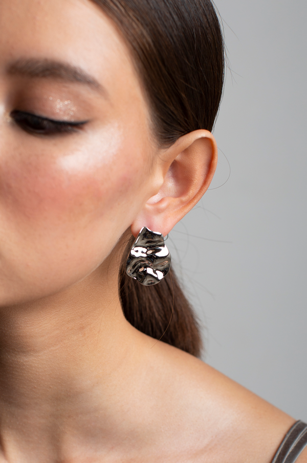 Sonya Earrings / Silver