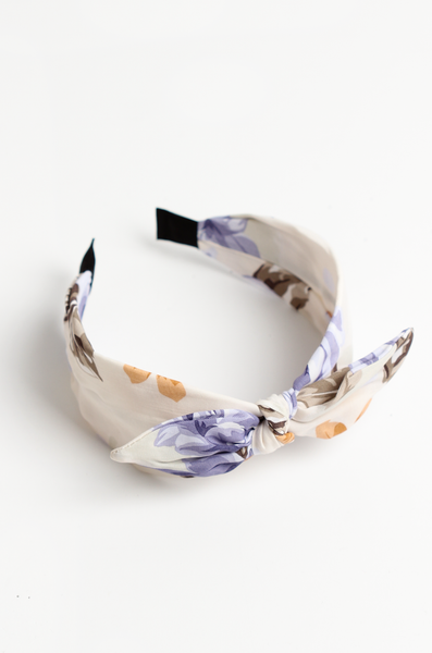 OLIVIA NZ Store online | Rose Headband / Cream |