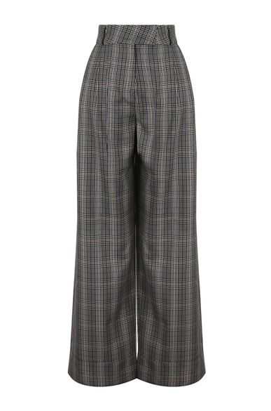 OLIVIA NZ Store online | Sweetheart Checked Pants / Navy