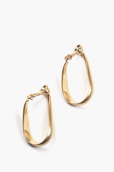 OLIVIA NZ Store online | Aylin Clip Earrings / Gold