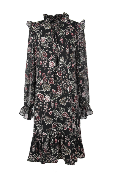 OLIVIA NZ Store online | Austyn Floral Dress / Black - OLIVIA NZ