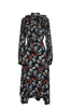 OLIVIA NZ Store online | Paige Floral Frill Dress / Navy |