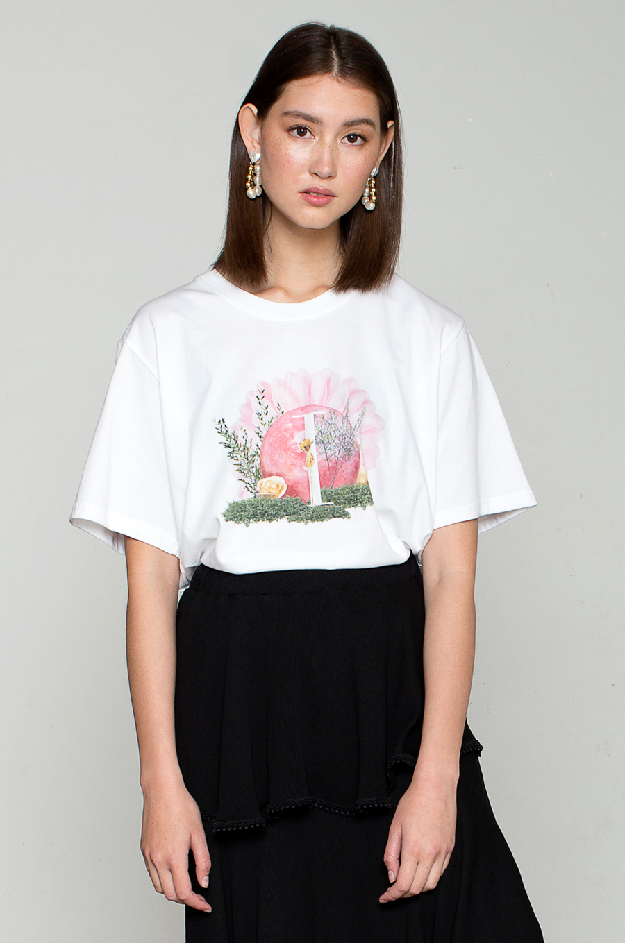 OLIVIA NZ Store online | Sunflower Top / Cream
