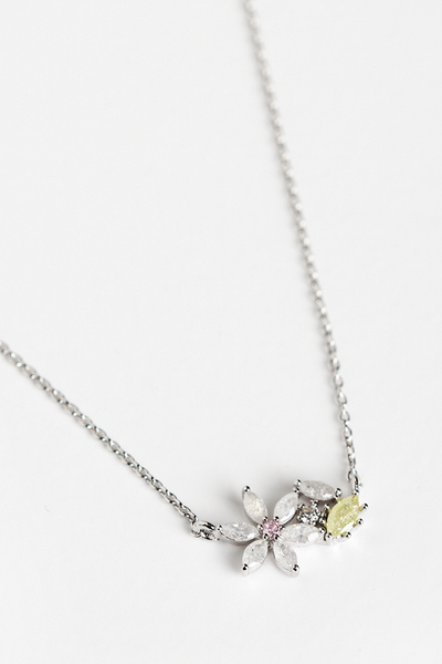OLIVIA NZ Store online | Daisy Petite Necklace / Silver |