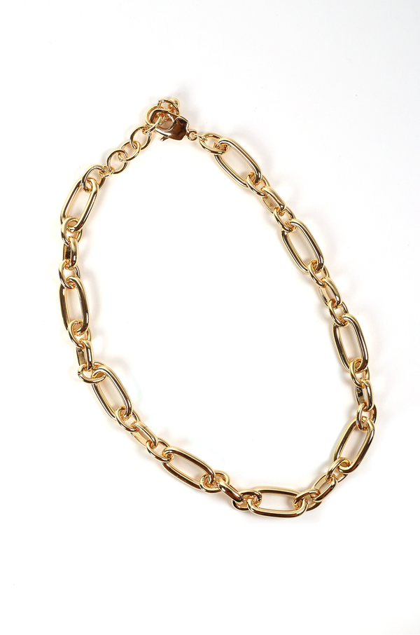 Zaylee Chain Necklace / Gold