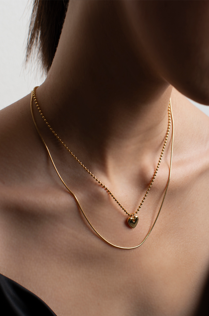 Sam Layered Necklace / Gold