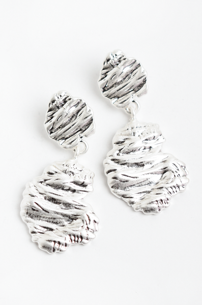 OLIVIA NZ Store online | Sabrina Earrings / Silver