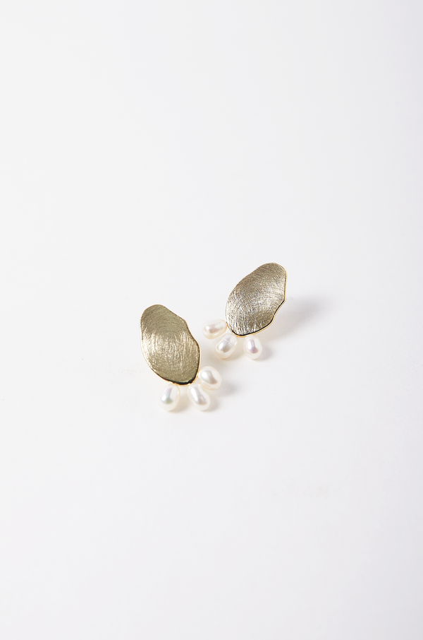 Ecume Pearl Earrings