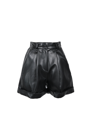 OLIVIA NZ Store online | Bellamy Pintuck Shorts / Black - OLIVIA NZ