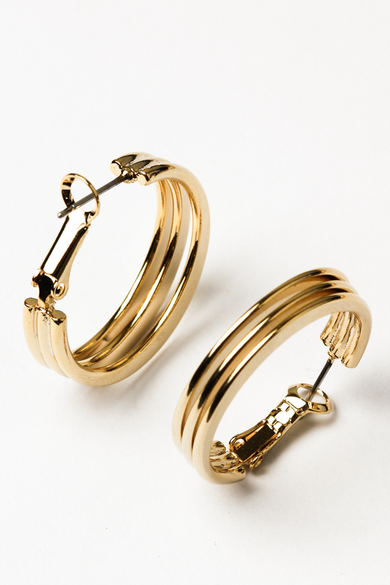 OLIVIA NZ Store online | Ruth Earrings / Gold