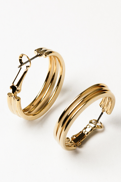OLIVIA NZ Store online | Ruth Earrings / Gold |