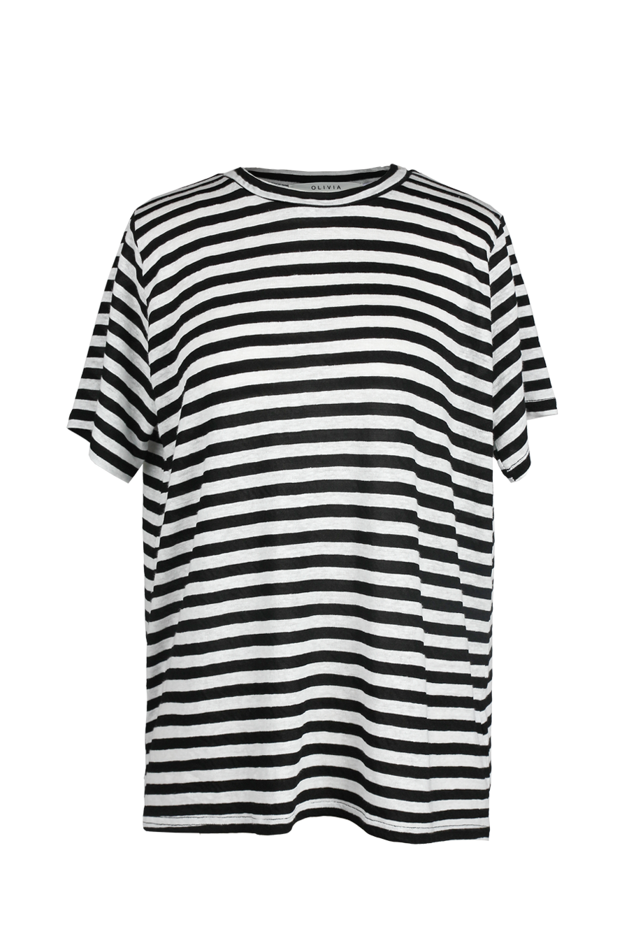 OLIVIA NZ Store online | Sasha Stripe Top / Black