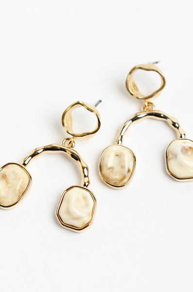 OLIVIA NZ Store online | Kassidy Earrings / Gold