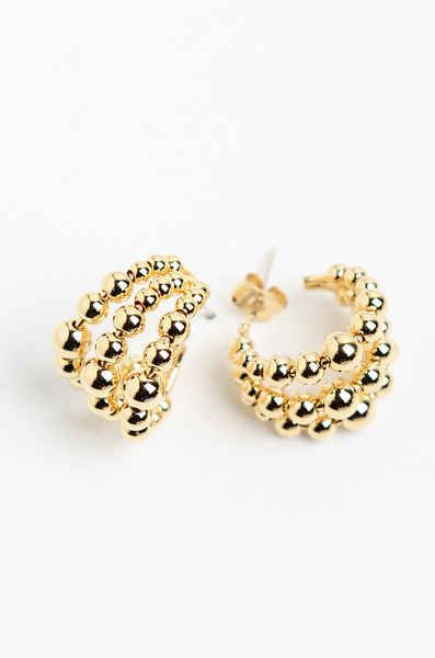 OLIVIA NZ Store online | Emmy Earrings / Gold