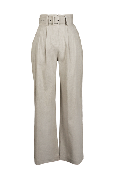 OLIVIA NZ Store online | Bay Linen Pants/ Natural - OLIVIA NZ