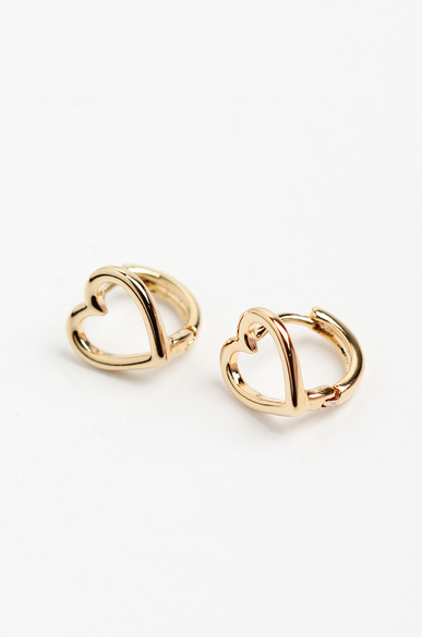 OLIVIA NZ Store online | Molly Huggie Earrings / Gold