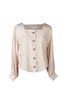 OLIVIA NZ Store online | Eleanor Retro Blouse / Pink |