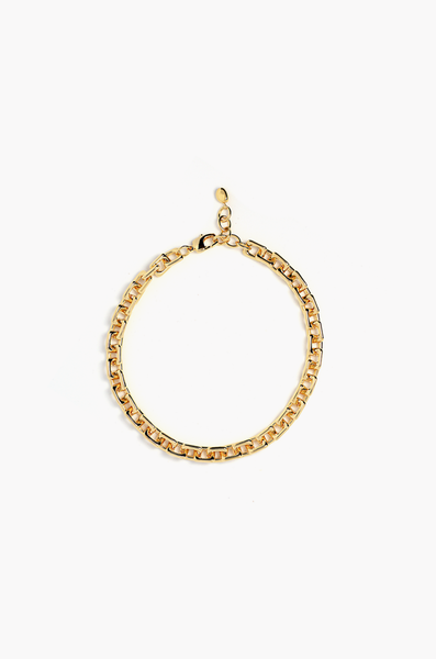 OLIVIA NZ Store online | Square Chain Necklace / Gold