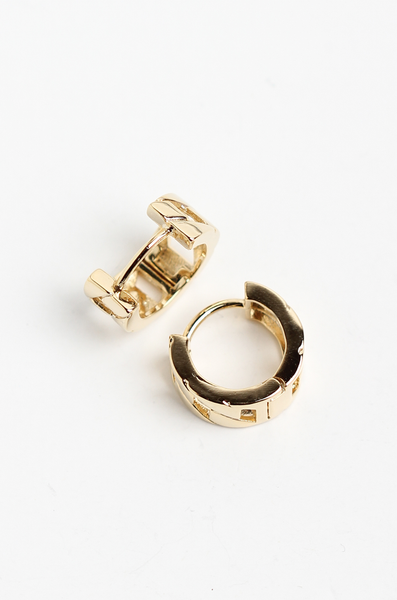 OLIVIA NZ Store online | Blair Mini Hoop Earrings / Gold