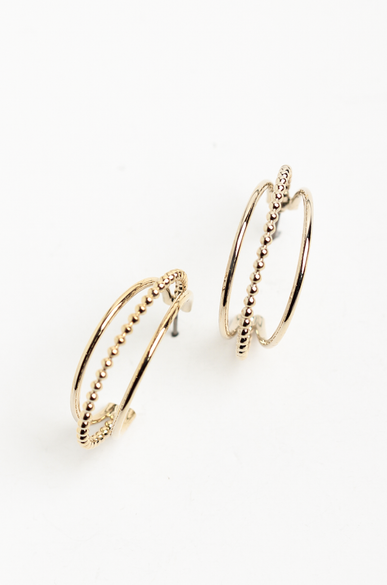 OLIVIA NZ Store online | Ivy Hoop Earrings / Gold