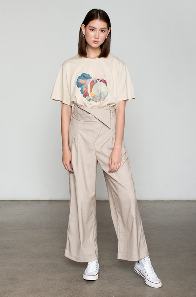 OLIVIA NZ Store online | Precious Belted Pants / Beige