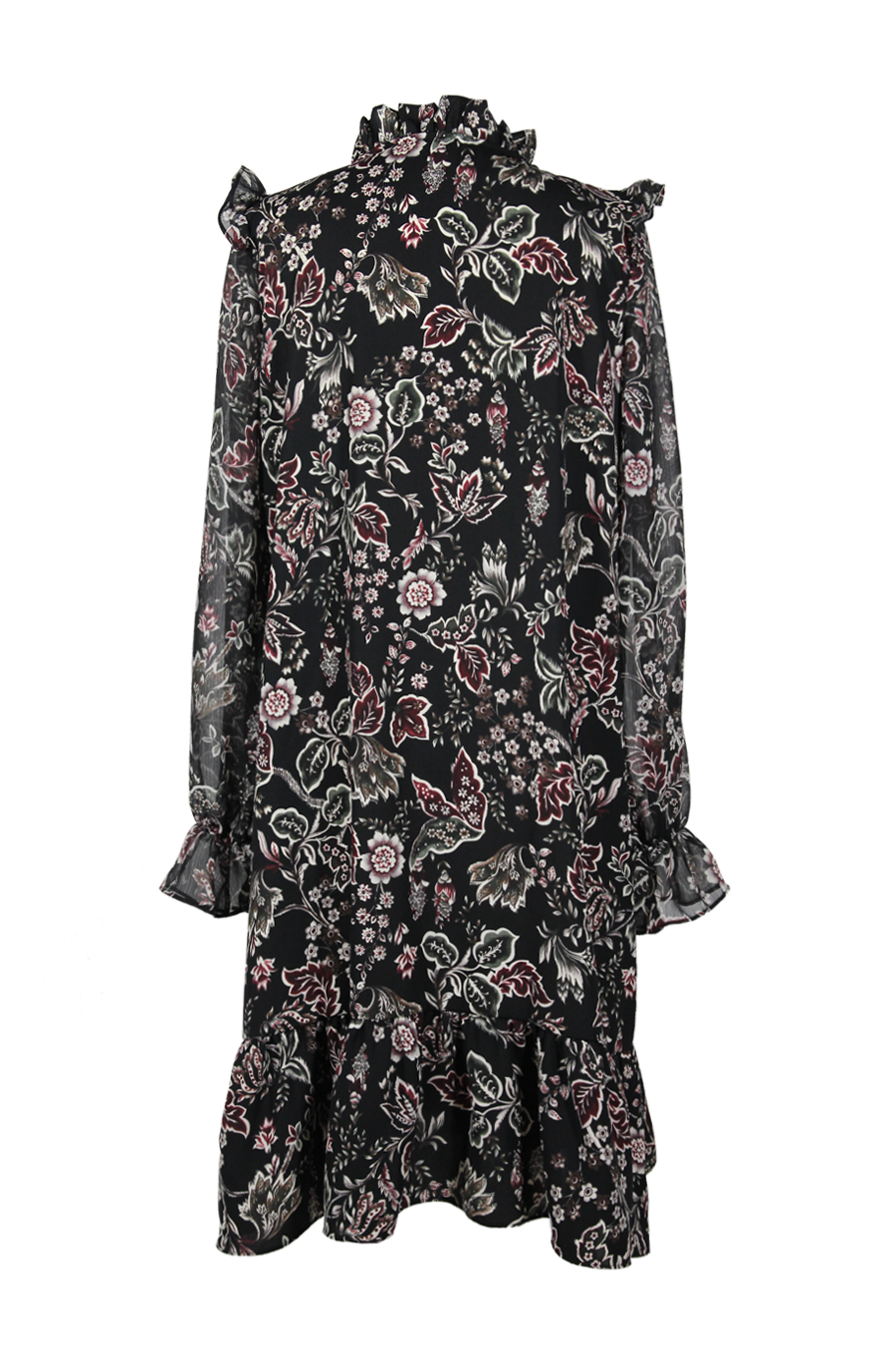 OLIVIA NZ Store online | Austyn Floral Dress / Black