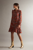 OLIVIA NZ Store online | Austyn Floral Dress / Dark Orange |
