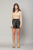OLIVIA NZ Store online | Bellamy Pintuck Shorts / Black |