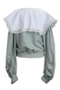 OLIVIA NZ Store online | Candy Eyelet Collar Sweatshirts / Mint Green |