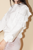OLIVIA NZ Store online | Crush Ruffle Sweatshirts / Cream |