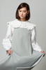 OLIVIA NZ Store online | Darling Eyelet Collar Blouse / Cream |