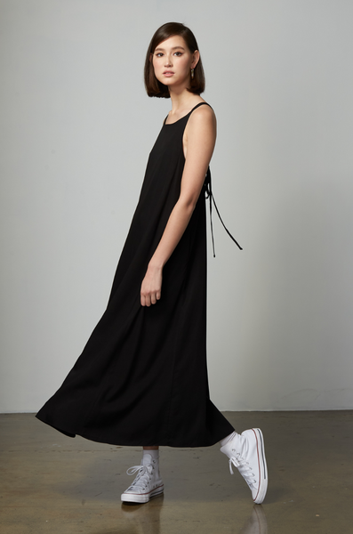 OLIVIA NZ Store online | Dreamy Slip Dress / Black |