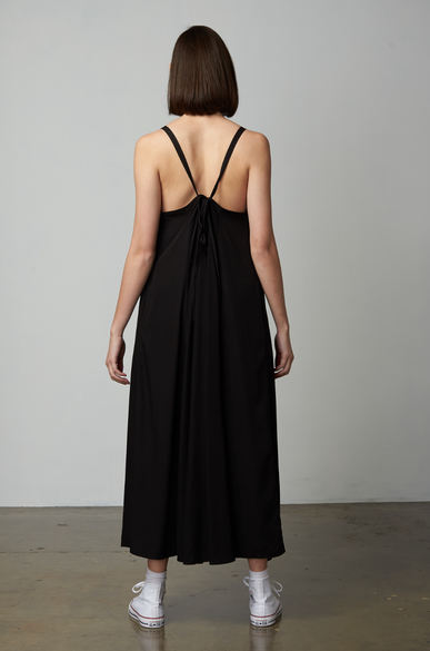 OLIVIA NZ Store online | Dreamy Slip Dress / Black
